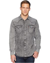 810468cd62 Levi s - Levi s(r) Standard Barstow Western Shirt (hunk Grey light Grey