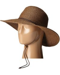 San Diego Hat Company - Ubm4453 4 Inch Brim Sun Hat With Twisted Adjustable Chin Cord - Lyst