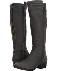 Sorel - Danica Tall (quarry/black) Women's Waterproof Boots - Lyst