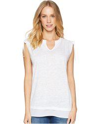 Sanctuary - Nora Mix Tee (adobe) Women's T Shirt - Lyst