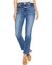 PAIGE - Hoxton Straight Ankle 27 Embarcadero (embarcadero) Women's Jeans - Lyst