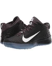 57d0ff7205e Nike - Force Zoom Trout 5 Turf (white black) Men s Cleated Shoes -