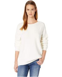 NYDJ - Velvet Tie Back Sweater (vanilla) Women's Sweater - Lyst