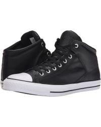 f98b1a65d39d Lyst - Converse Chuck Taylor® All Star® Street Nylon Leather Hi in ...