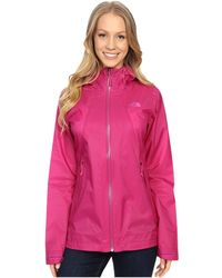 The North Face - Venture Fastpack Jacket (fuchsia Pink (prior Season)) Women's Coat - Lyst