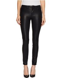 ecfd9c30047314 Blank NYC Vegan Leather Embroidered Skinny Pants in Black - Lyst