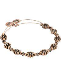 ALEX AND ANI - Blossom Bangle (rafaelian Rose Gold) Bracelet - Lyst