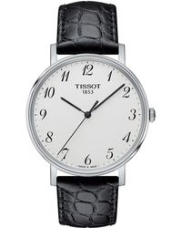 Tissot - Everytime Medium - T1094101603200 (silver/black) Watches - Lyst
