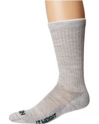 Filson - Lightweight Traditional Crew Sock (gray Heather) Crew Cut Socks Shoes - Lyst