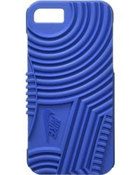Nike - Air Force 1 Phone Case Iphone 7 (black/black) Cell Phone Case - Lyst