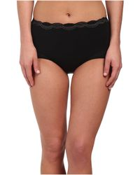 Natori - Pure Allure Brief (black/charcoal) Women's Underwear - Lyst
