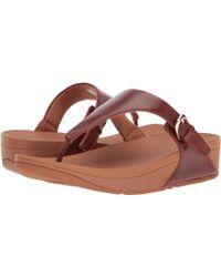 8bbd7b4dd Fitflop - Skinny Toe Thong Sandal (urban White) Women s Sandals - Lyst