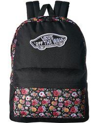bc74b0e699df Vans - Realm Backpack (black Desert Rose) Backpack Bags - Lyst