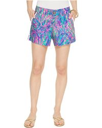 Lilly Pulitzer - Callahan Shorts (pink Sunset Coco Breeze) Women's Shorts - Lyst