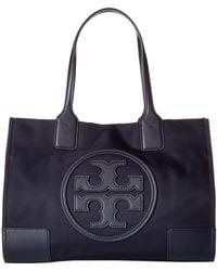 Tory Burch - Ella Mini Tote (black) Tote Handbags - Lyst