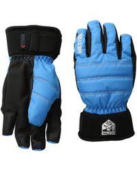 Hestra - Czone Primaloft Junior (turquoise) Ski Gloves - Lyst