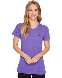 adidas - Ultimate Short Sleeve Tee - Lyst