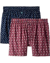 Tommy Bahama - 2-pack Island Washed Cotton Woven Boxer Set (parrots) Men's Underwear - Lyst