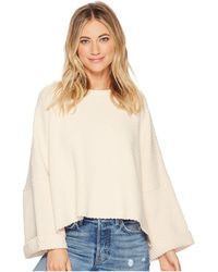 Free People - I Can't Wait Pullover (moss) Women's Sweater - Lyst