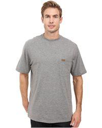 Pendleton - S/s Deschutes Pocket Shirt (black) Men's T Shirt - Lyst