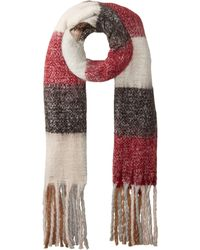 San Diego Hat Company - Bss3540 Overiszed Plaid Scarf (red) Scarves - Lyst