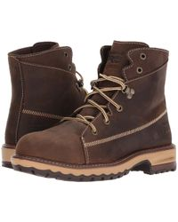 Timberland - Hightower 6 Alloy Safety Toe (kaffe Full Grain Leather) Women's Work Lace-up Boots - Lyst