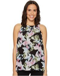 Vince Camuto | Sleeveless Glacier Floral Blouse | Lyst
