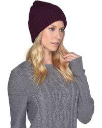 UGG - High Cuff Knit Hat (stone Heather) Caps - Lyst