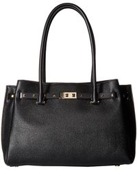 MICHAEL Michael Kors - Addison Large Tote (black) Tote Handbags - Lyst
