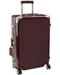 Rimowa - Limbo - 29 Multiwheel(r) (carmona Red) Luggage - Lyst