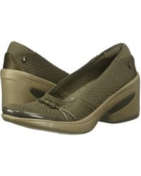 Bzees - Electric (light Brown Boxed Geo Print) High Heels - Lyst