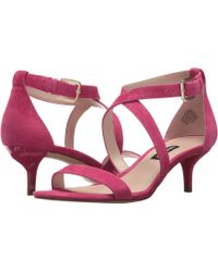 Nine West - Xaeden Strappy Heel Sandal (light Natural Leather) Women's Shoes - Lyst