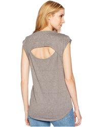 Woolrich - Eco Rich New Heights Sleeveless Tee (light Bijou Heather) Women's T Shirt - Lyst