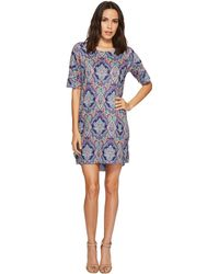 Nally & Millie - Paisley Sweater Dress - Lyst