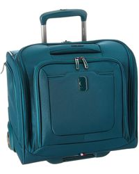 Delsey - Hyperglide 2-wheel Under-seater (teal) Luggage - Lyst
