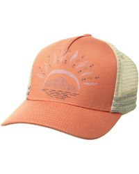 Toad&Co - Stretch Cord Trucker Hat (papaya) Caps - Lyst