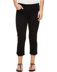 NYDJ - Petite Capris W/ Released Hem In Black (black) Women's Jeans - Lyst