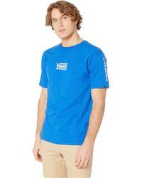 4bf8b5a4432 Vans - Checkmate Iii Short Sleeve T-shirt (black) Men s Clothing - Lyst