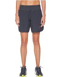 Brooks - Chaser 7 Shorts (asphalt) Women's Shorts - Lyst