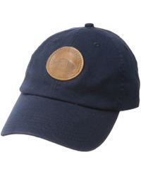 Pendleton - Cotton Hat With Mill Patch (navy) Caps - Lyst