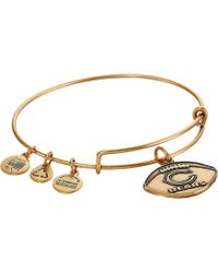 ALEX AND ANI - Nfl Chicago Bears Football Bangle - Lyst