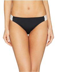 Roxy - Fitness Solid Regular Bottoms (true Black) Women's Swimwear - Lyst