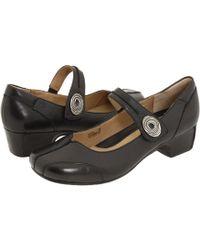 Josef Seibel - Cara (savonna Black Leather) Women's Maryjane Shoes - Lyst