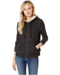 B Collection By Bobeau - Remington Sherpa Fleece Hoodie (sugar) Women's Sweatshirt - Lyst