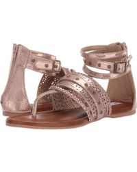 Not Rated - Xylia (pewter) Women's Sandals - Lyst