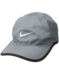 8aaeed5cf08985 Nike - Featherlight Cap (black black orange Peel) Caps - Lyst