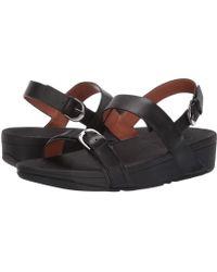 21eed36948d1 Fitflop - Edit Sandal (black) Women s Shoes - Lyst