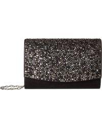 Jessica Mcclintock - Alexis Sparkle Shine Flap (silver) Handbags - Lyst