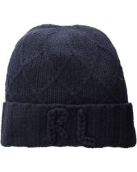 Polo Ralph Lauren - Chainstitch Rl Hat (navy) Beanies - Lyst fc861bf828e