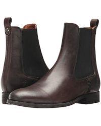 Frye - Melissa Chelsea (cognac) Women's Pull-on Boots - Lyst